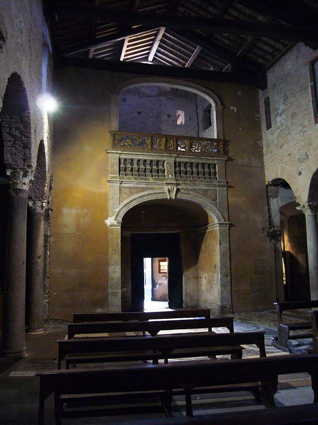 Trastevere - s Benedetto i Piscinula controfacciata 1040042.JPG