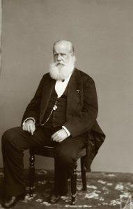 Retrato de Dom Pedro II, c. 1885, por Marc Ferrez (RJ / Acervo IMS)