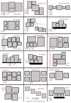 Frame Layout on Pinterest