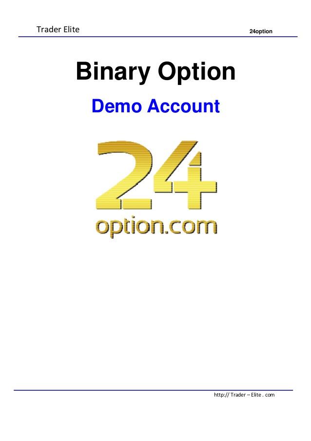 binary option demo account