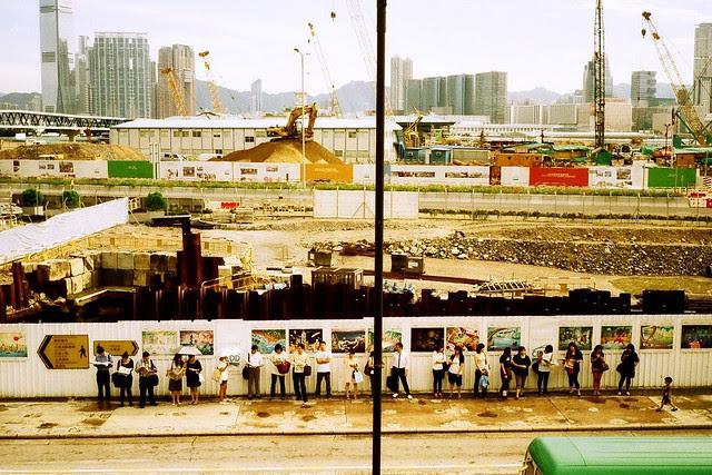 Construction Site Hong Kong