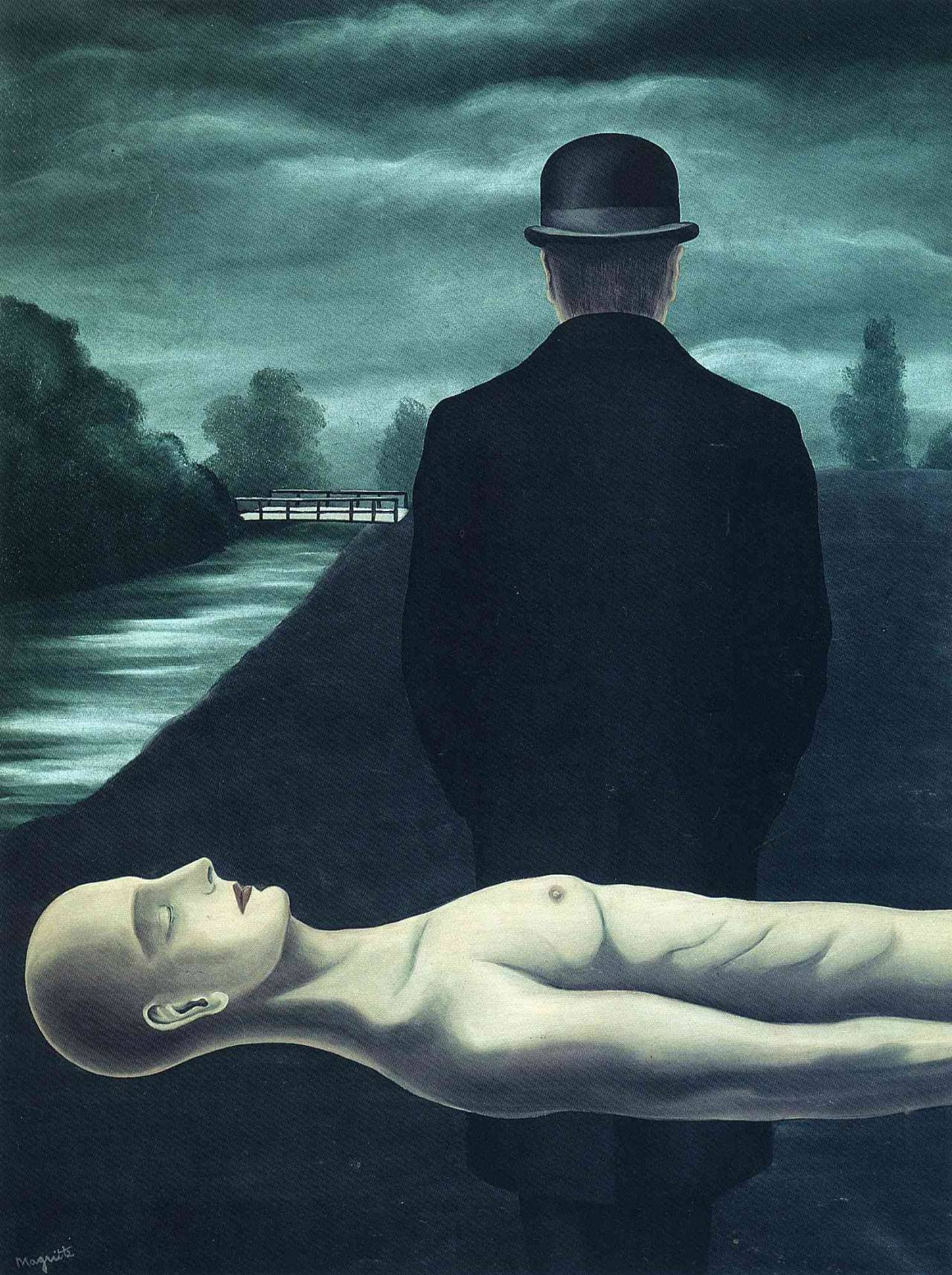 The musings of the solitary walker, 1926Rene Magritte