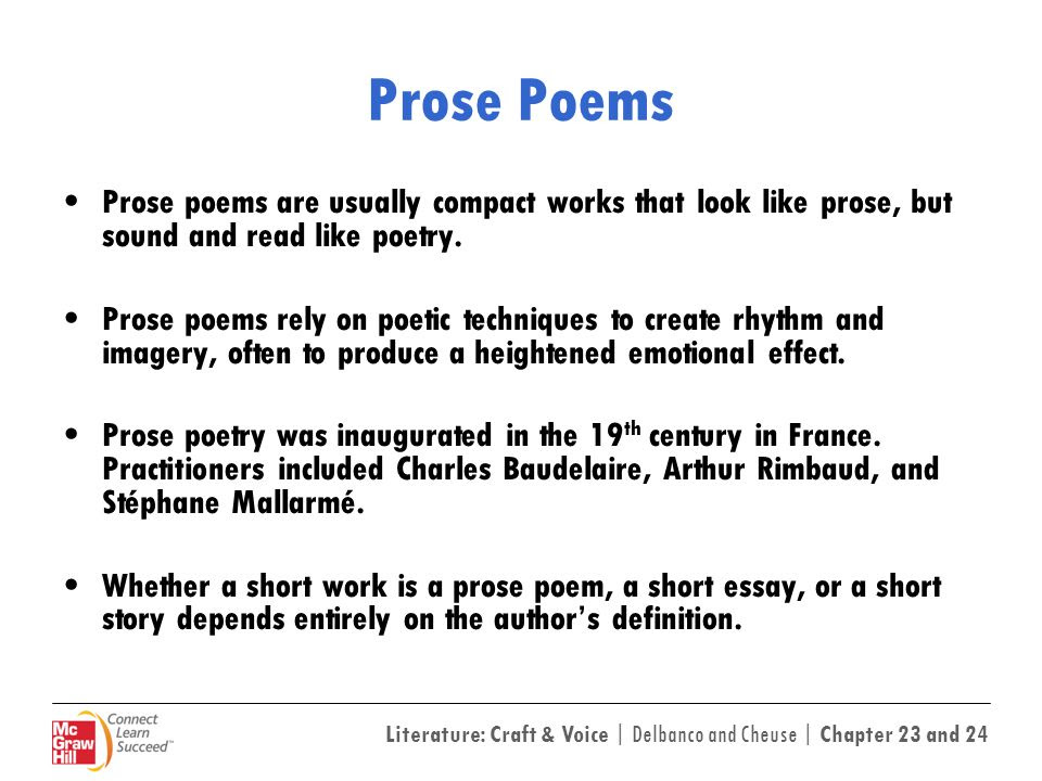 84 POETRY MEANING SHORT STORY