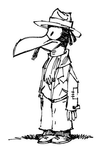 Number 35. Horus, the Bird-Headed Fool by Ape Lad