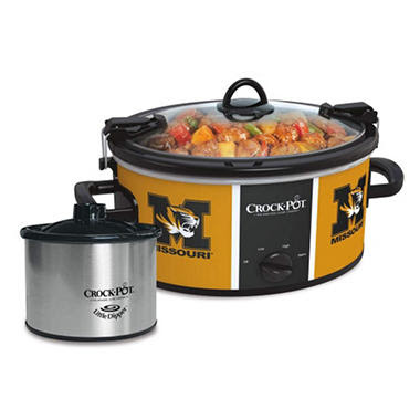 Crock-Pot NCAA Cook and Carry Slow Cooker, 6 Qt. (Missouri Tigers)
