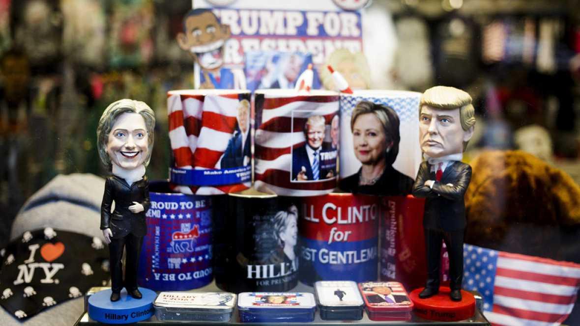 Entre apoyos fieles y escándalos, los candidatos apuran los últimos días de campaña en EE.UU.