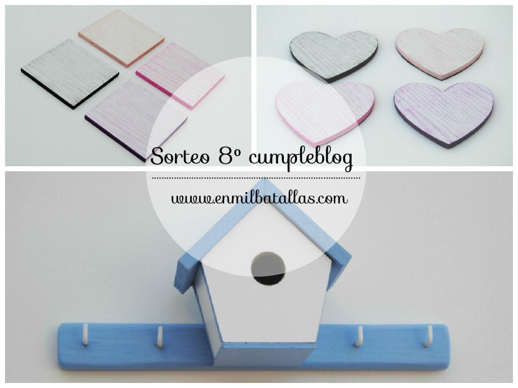Sorteo 8 cumpleblog