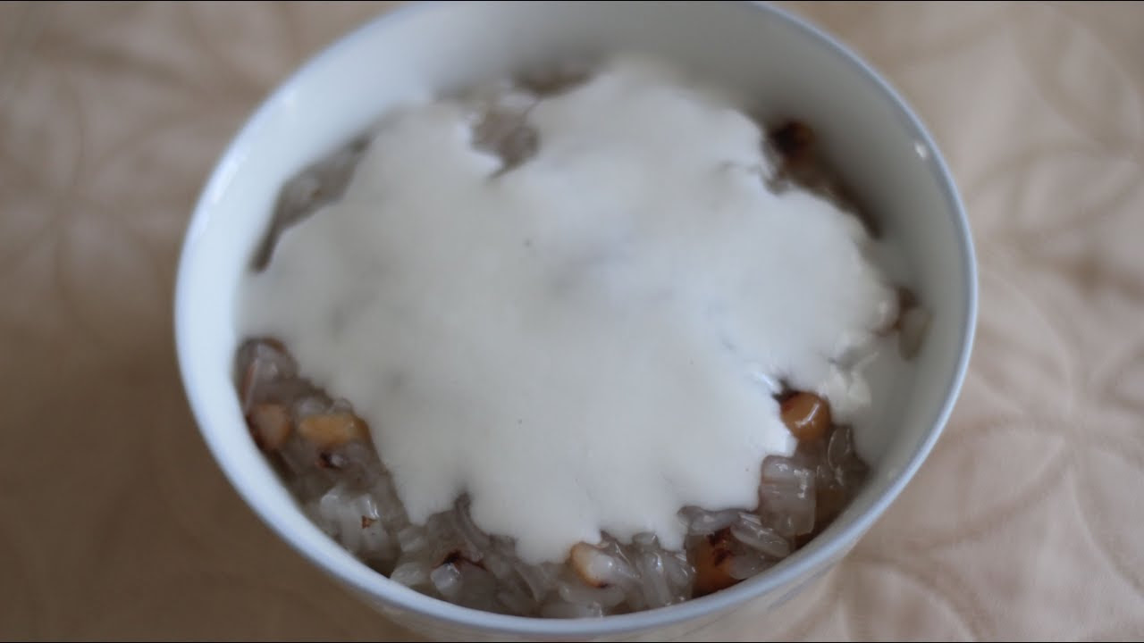 Vietnamese Sticky Rice with Black-Eyed Peas Pudding (Che ...