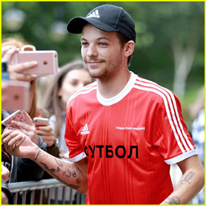 Louis Tomlinson Debuts 'E' Tattoo, Fans Link to Eleanor Calder