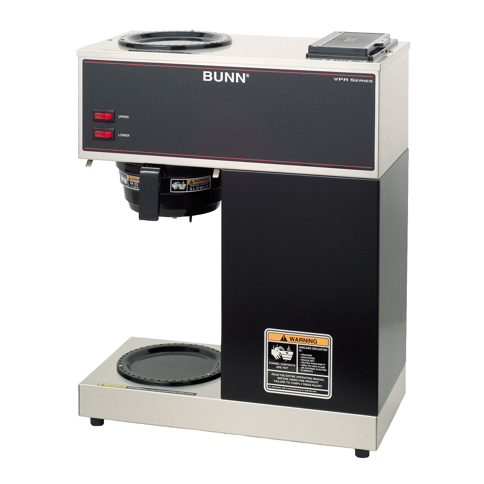 Bunn VPR Commercial 12-Cup Pourover Coffee Maker