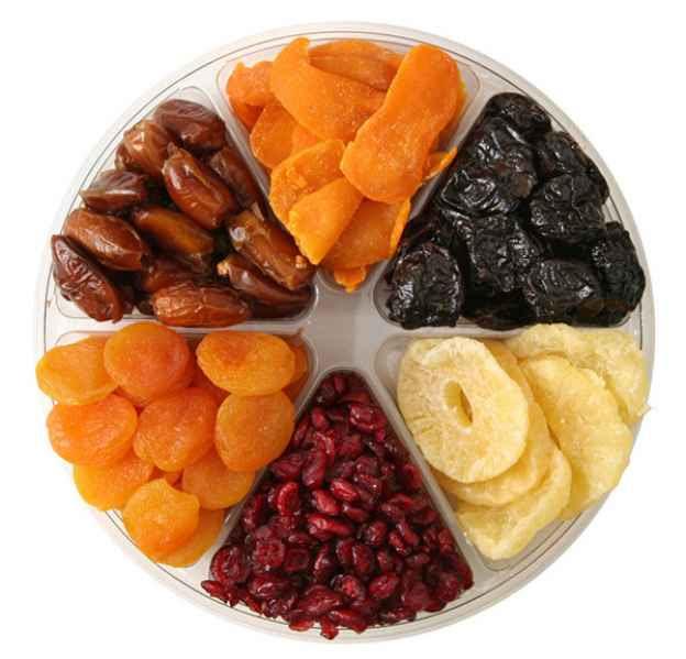 Αποξηραμένα φρούτα, φυσική πηγή ενέργειας