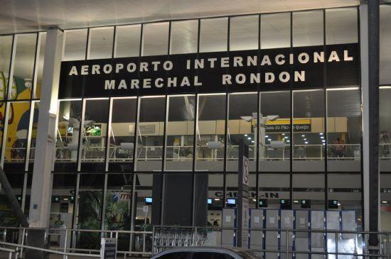 Cuiabá terá restrição de voos durante jogos da Copa e passageiros devem sofrer