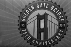 Golden Gate Bridge 75th Anniv - Sign