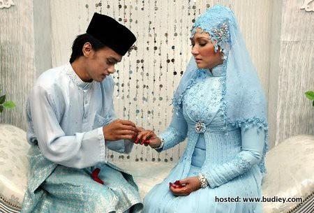 pernikahan bekas isteri Akhil Hayy