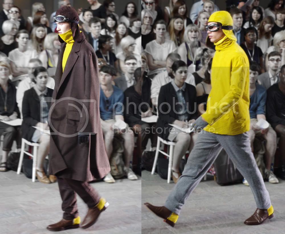 Kahori Tsujimoto (Fashion Menswear) CSM BA Press Show