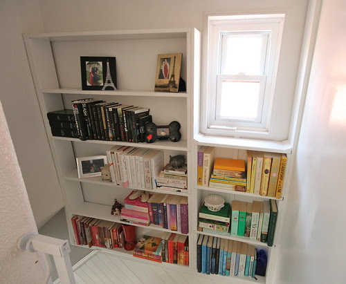 Staircase Bookcase - July 2011