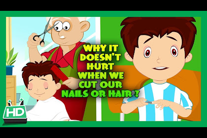 Child Cutting Nails Clipart