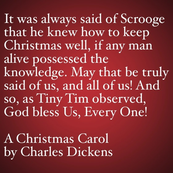 My Word With Douglas E Welch My Favorite Quotes From A Christmas