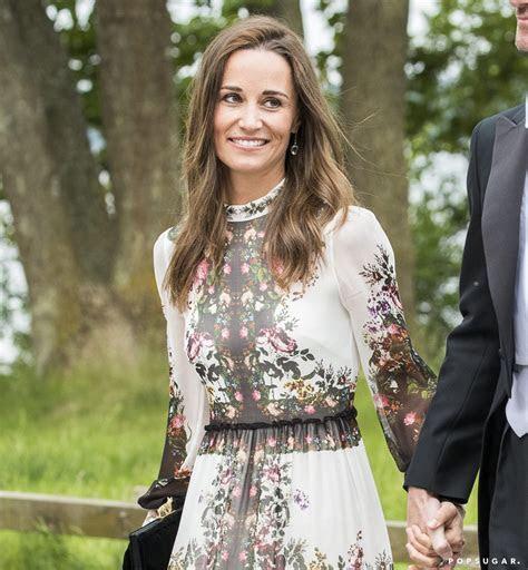 Pippa Middleton Erdem Wedding Guest Dress   POPSUGAR