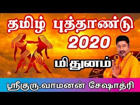 Tamil Puthandu Palangal 2020 Mithunam| தமிழ் புத்தாண்டு பலன்கள் 2020 மித...