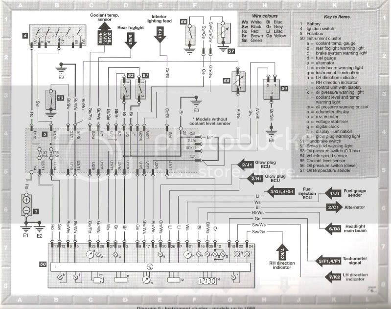 Mk4 Jetta Headlight Switch Wiring Diagram