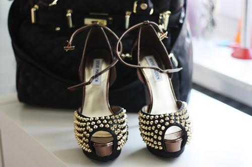 Nieten Hoch Schuhe