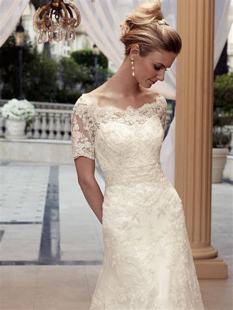 Off The Shoulder A line Casablanca Bridal Gown 2119