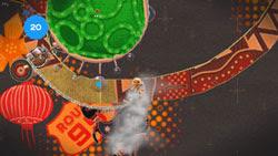 35 platforming levels in LittleBigPlanet for PSP