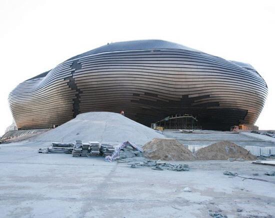 Erdos Museum01 14 Futuristic Building Designs in China