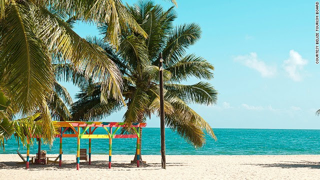 47. Placenia Beach, Belize