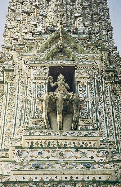 File:Bangkok Wat Arun Phra Prang Indra  Erawan.jpg