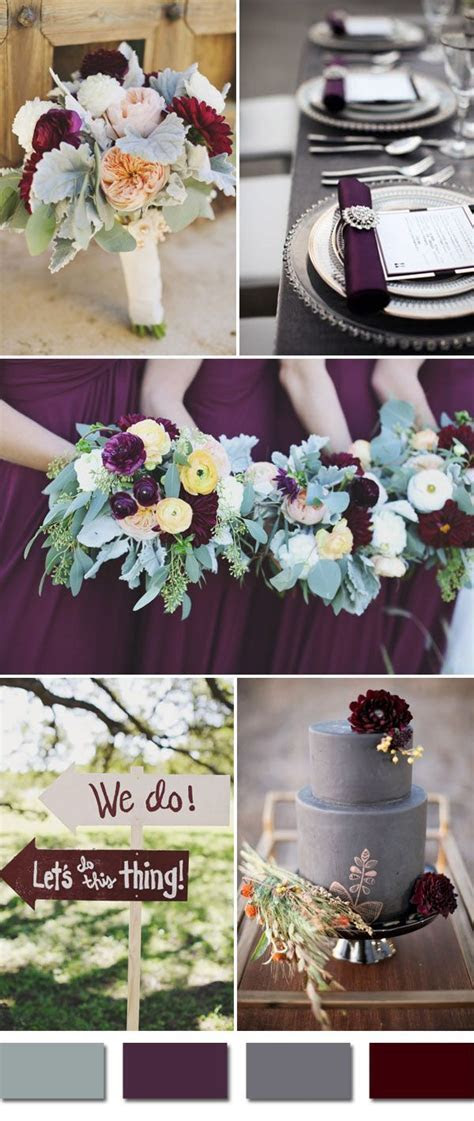 Top 5 Fall Wedding Colors for September Brides   2019 Fall