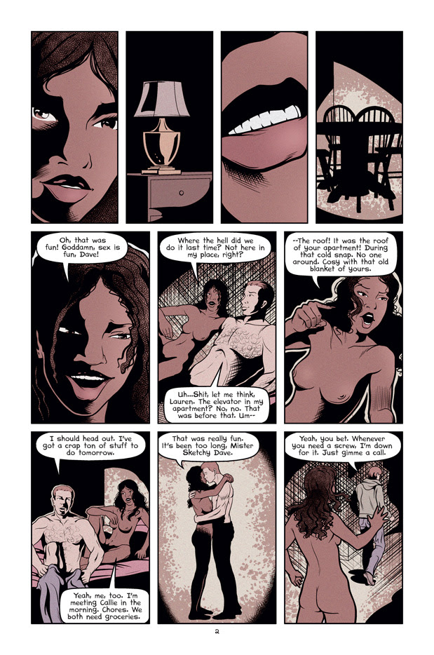 Wolf's Head Issue 3 Page 2 Written and Illustrated by Von Allan