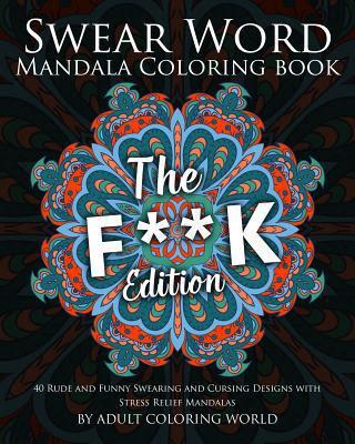 swear word mandala coloring book  the fk edition  40