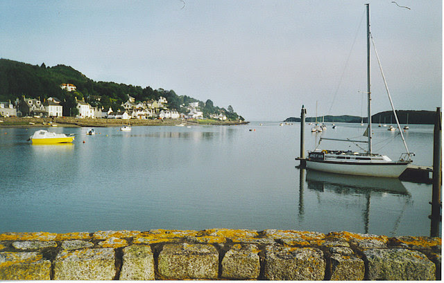 File:Moorings at Kippford from the Jetty. - geograph.org.uk - 155729.jpg