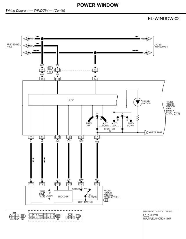 2004 Nissan Maxima Power Window Wiring Diagram Wiring Diagrams Site Other A Other A Geasparquet It
