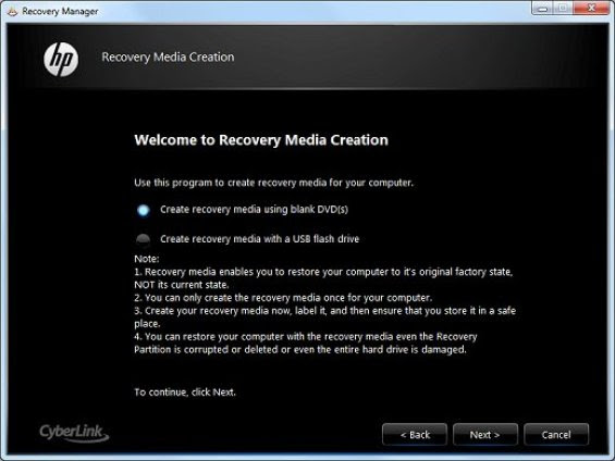 recover manager