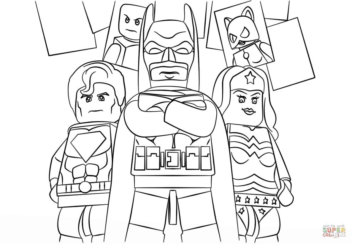 Lego Super Heroes coloring page | Free Printable Coloring ...