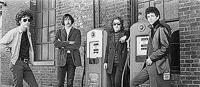 I Velvet Underground in una vecchia immagine