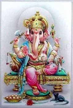 Ganesh Ji Graphic