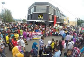 McDonald's kecewa premisnya mengalami vandalisme ekoran boikot