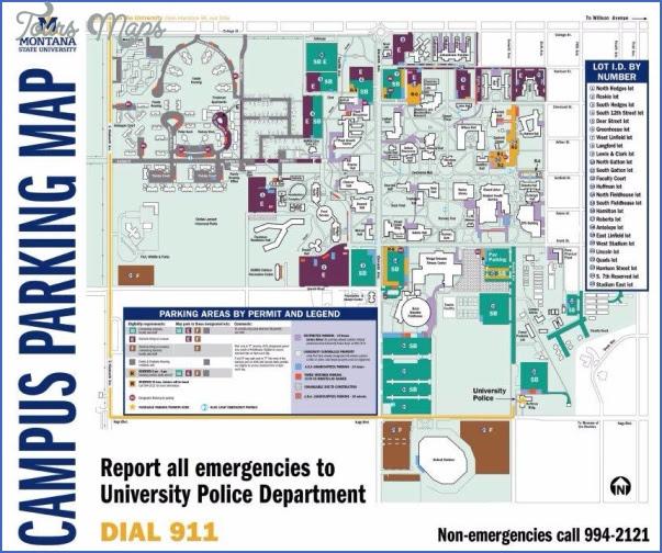 msu bozeman campus map Montana State University Campus Map Maping Resources msu bozeman campus map