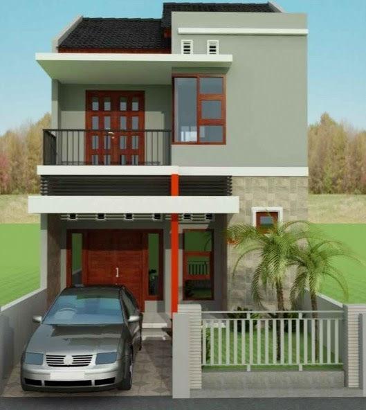 Get Warna Cat Rumah Minimalis 2 Lantai Tampak Depan Images ...