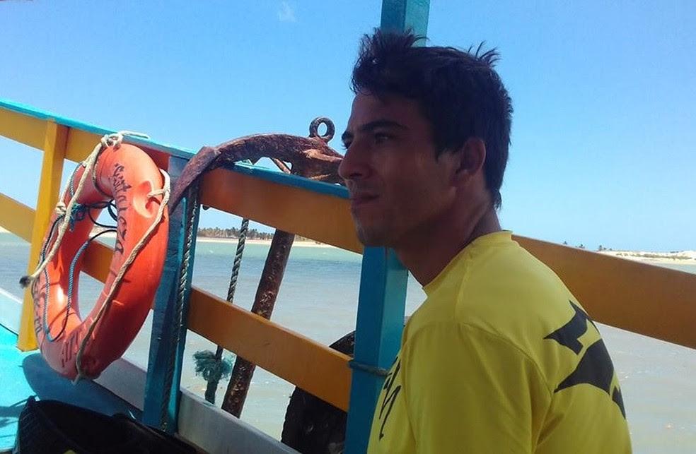 Gustavo Augusto, conhecido como Pica-Pau, atuava como instrutor de kitesurf em São Miguel do Gostoso. (Foto: Reprodução)