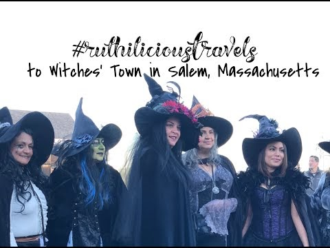 #ruthiliciousTravels to Witches' Town in Salem, Massachusetts