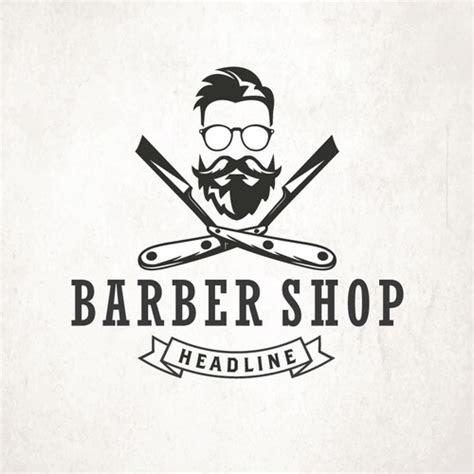 vintage  hipster barber logo logo design contest