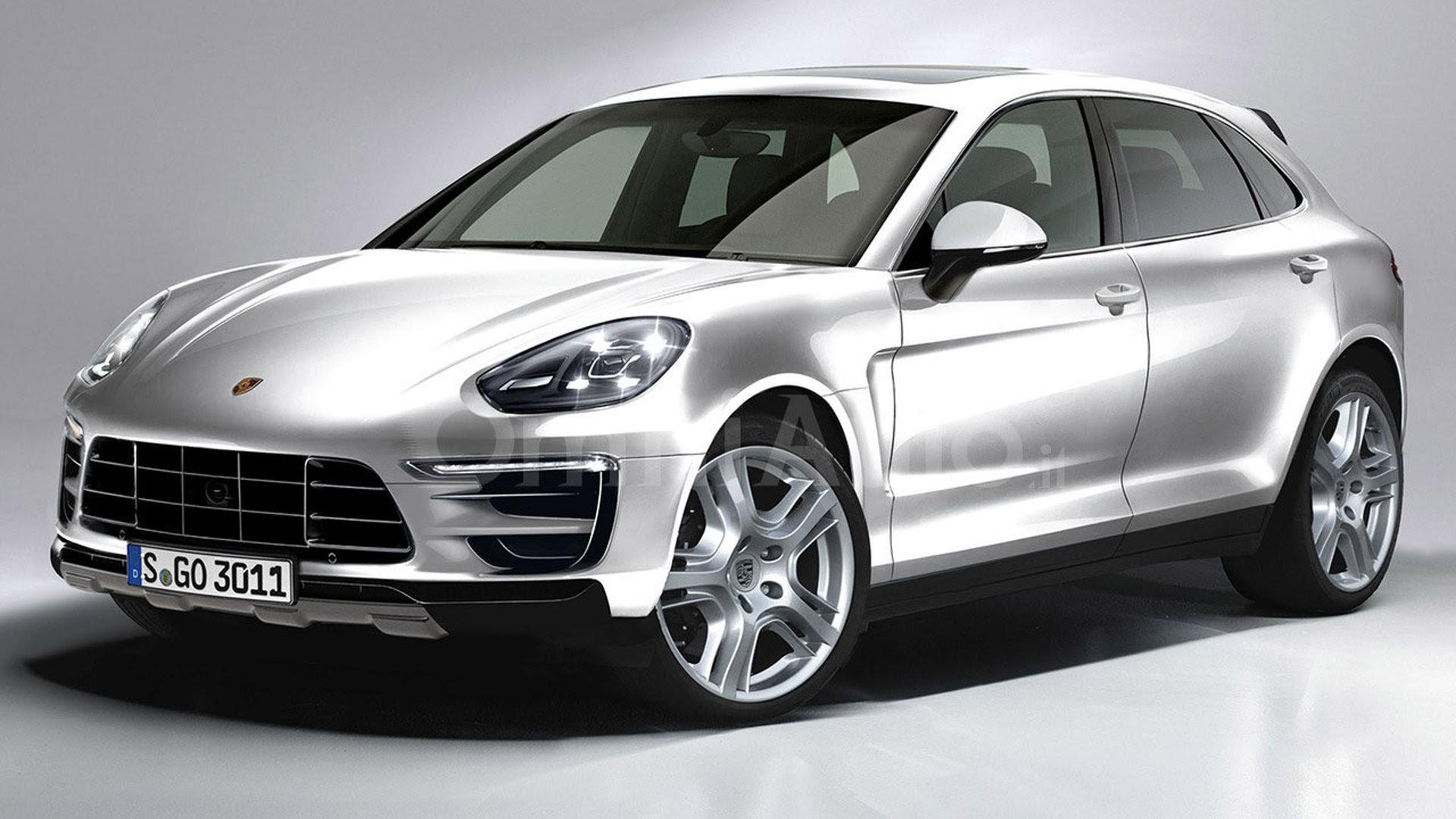 2017 Porsche Cayenne gets rendered   Motor1.com