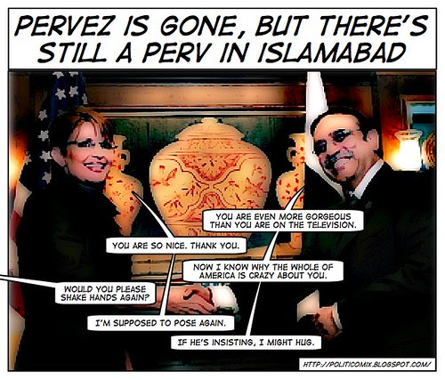Scoop – When Mr Zardari Met Ms Palin