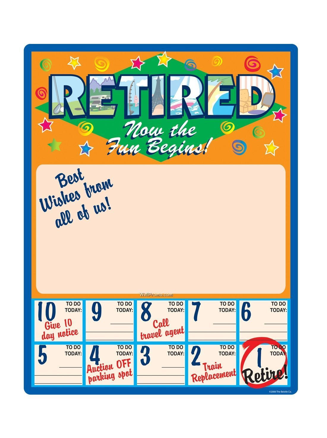 funny countdown to retirement calendar 23 x18 retired now the fun be 203961 smGacu