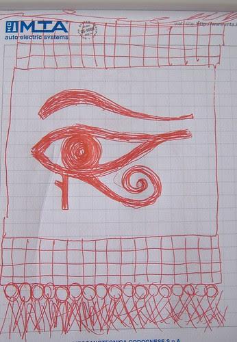 eye of horus sketch 2008